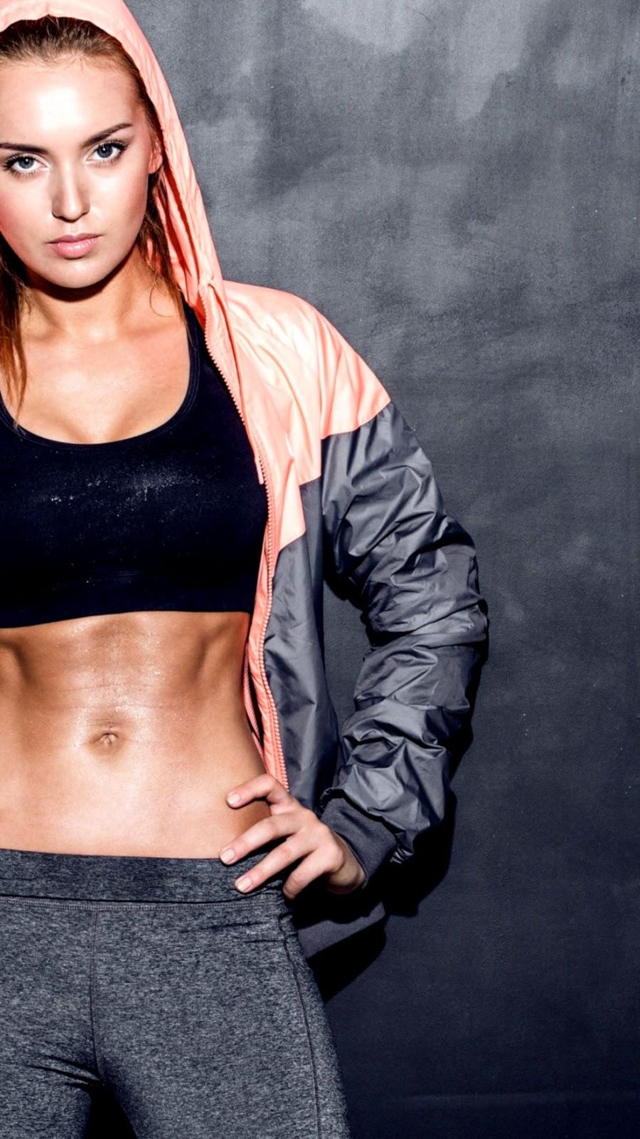 Girl Blonde Fitness Hd Wallpaper Lock Wallpapers