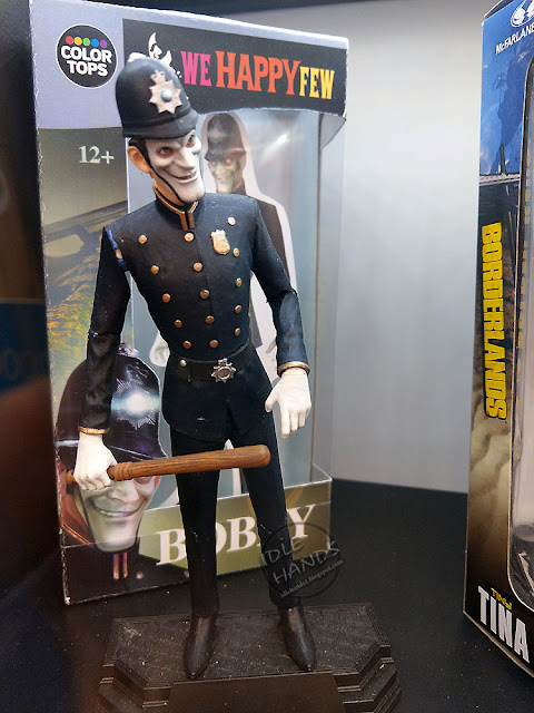 Toy fair 2018 We Happy Few rounds out the pack with a Bobby 7 inch action figure