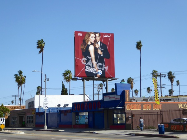 The Catch TV series billboard