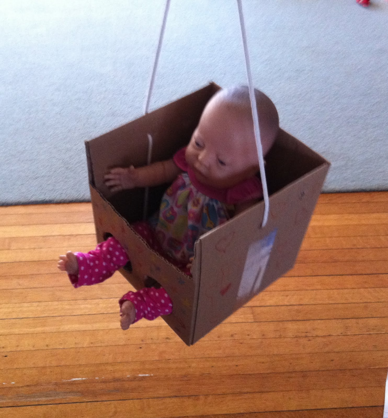 25 Best Ideas About Kids Toy Boxes On Pinterest: Growing Play: Pretend Swing For The Doll