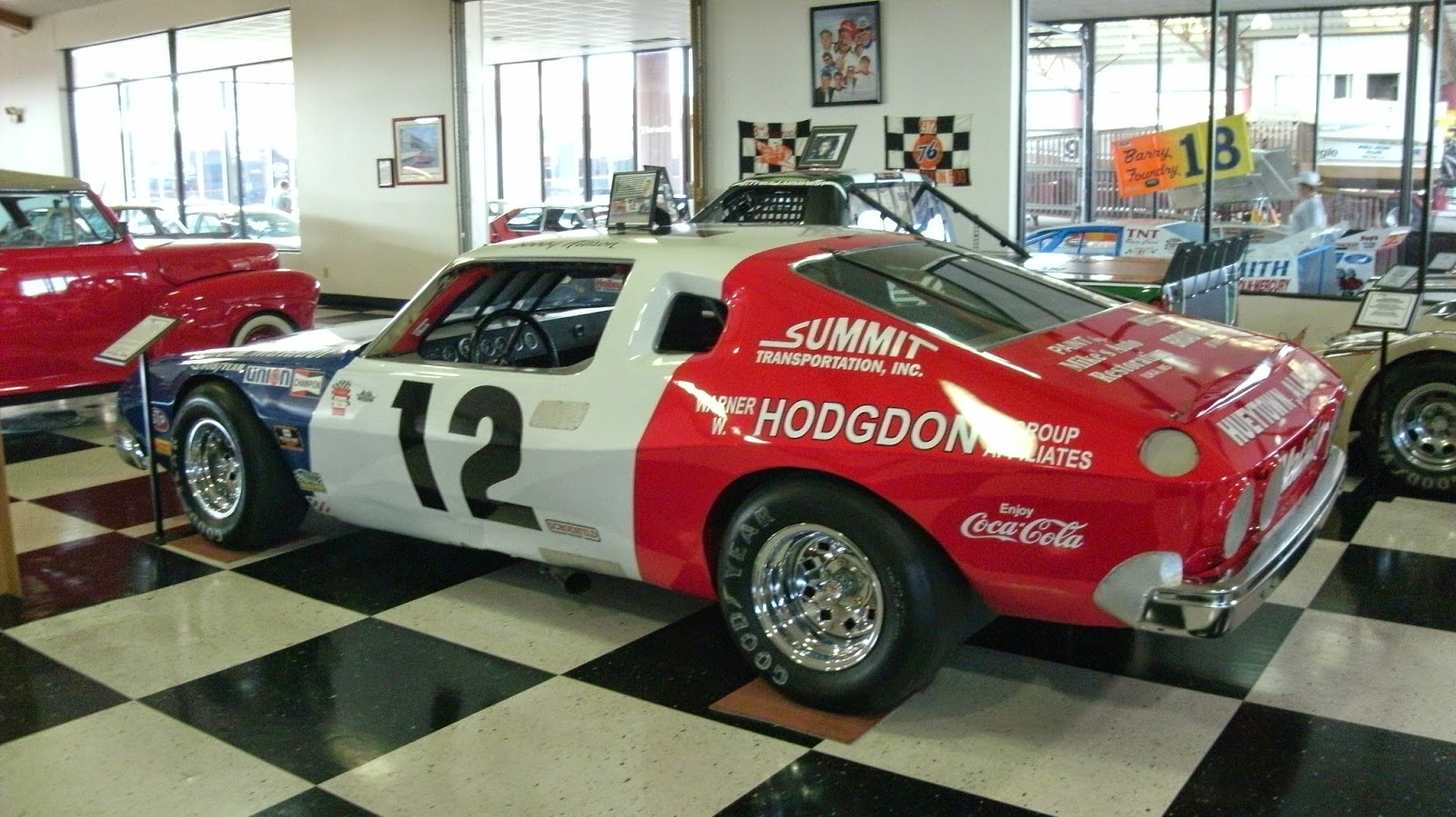 Richard Petty Motorsports >> CARHUNTER : TALLADEGA INTERNATIONAL MOTORSPORTS MUSEUM