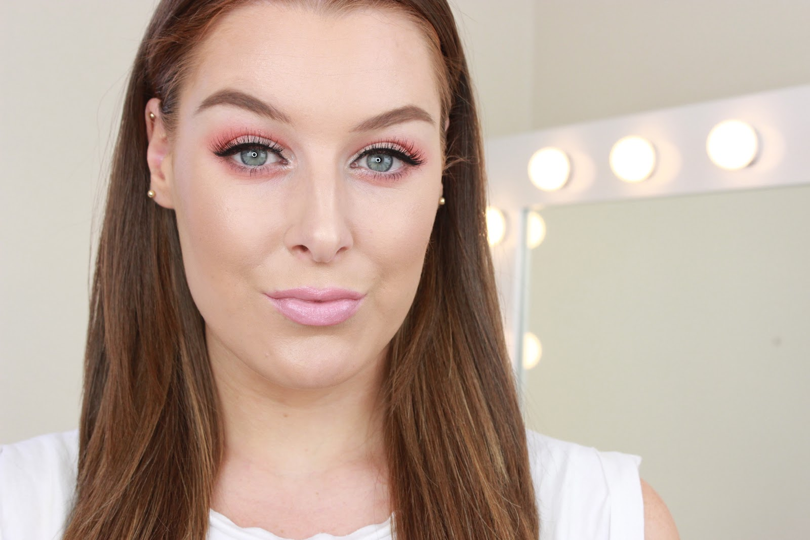 Peachy Toned Spring Makeup | Youtube Tutorial