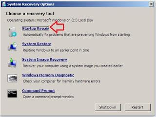 Cara Mengatasi Windows Error Recovery dengan Mudah