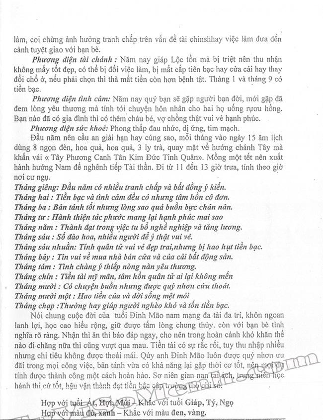 Tu Vi Dinh Mao 1987 nam 2017
