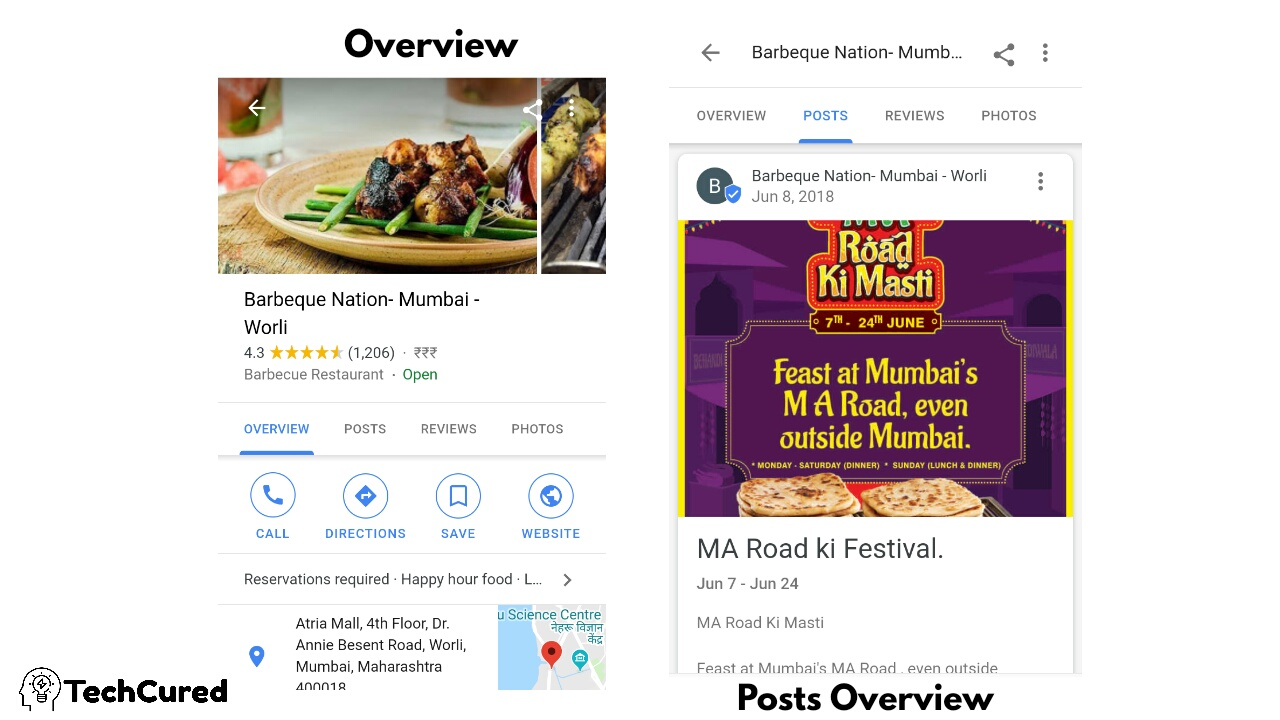 How To Use Google's New Business Posts To Get More Views, How to write Google business posts, what is Google business, step by step guide to setup Google business | TechCured.com