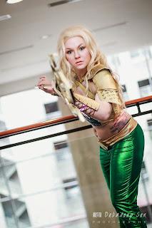 Aquawoman Cosplay