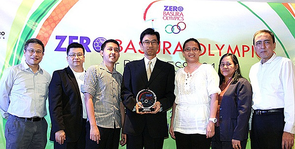 Epson Recognized in 2nd Zero Basura Olympics
