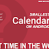 Worlds First Smallest Calendar for Android (16 KB)