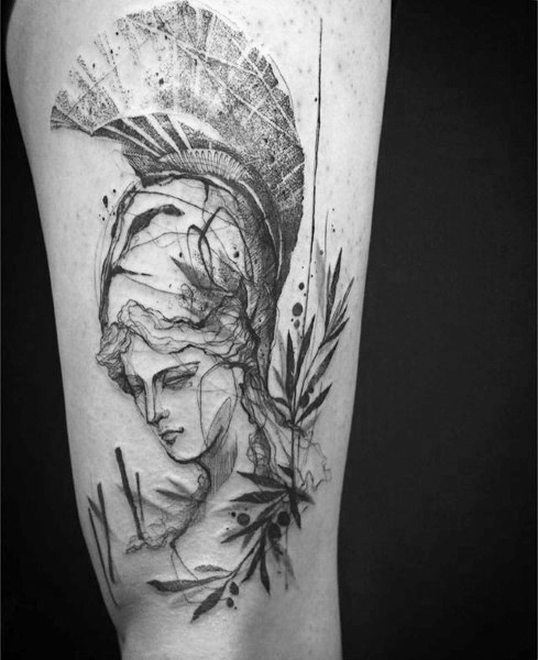 Athena Tattoo Designs For Men Tattoo Designs 2019