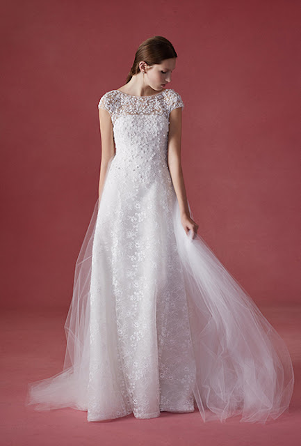 BRIDAL INSPIRATION FROM OSCAR DE LA RENTA FALL2016 COLLECTION