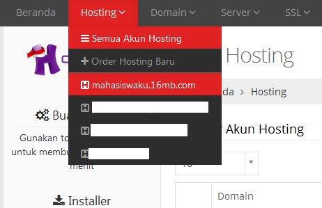 Cara Backup File Web dan Database MySql di Idhostinger
