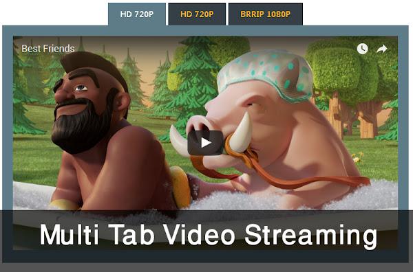 Membuat Multi Tab Video Streaming Responsive Di Blog