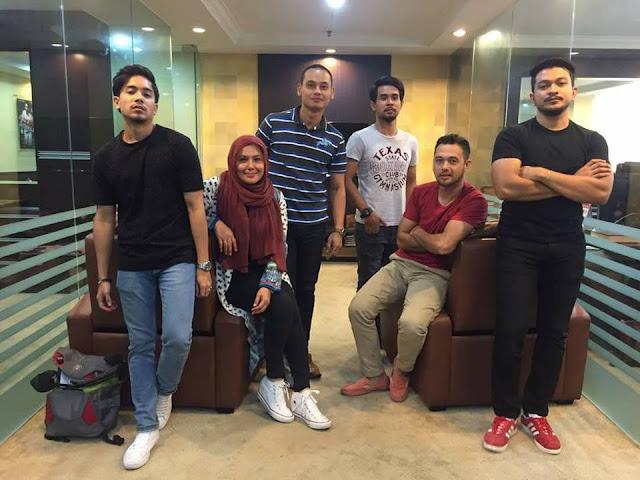 Shukri Yahya, Hafeez Mikail, Haleeda, Aidil Aziz, Amirul Faqeem, Syed Aiman