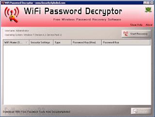 WİFİ Password Decryptor 6.0