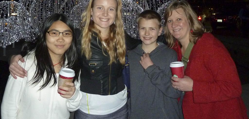 Become Host Parent-Loving Warm Embraces