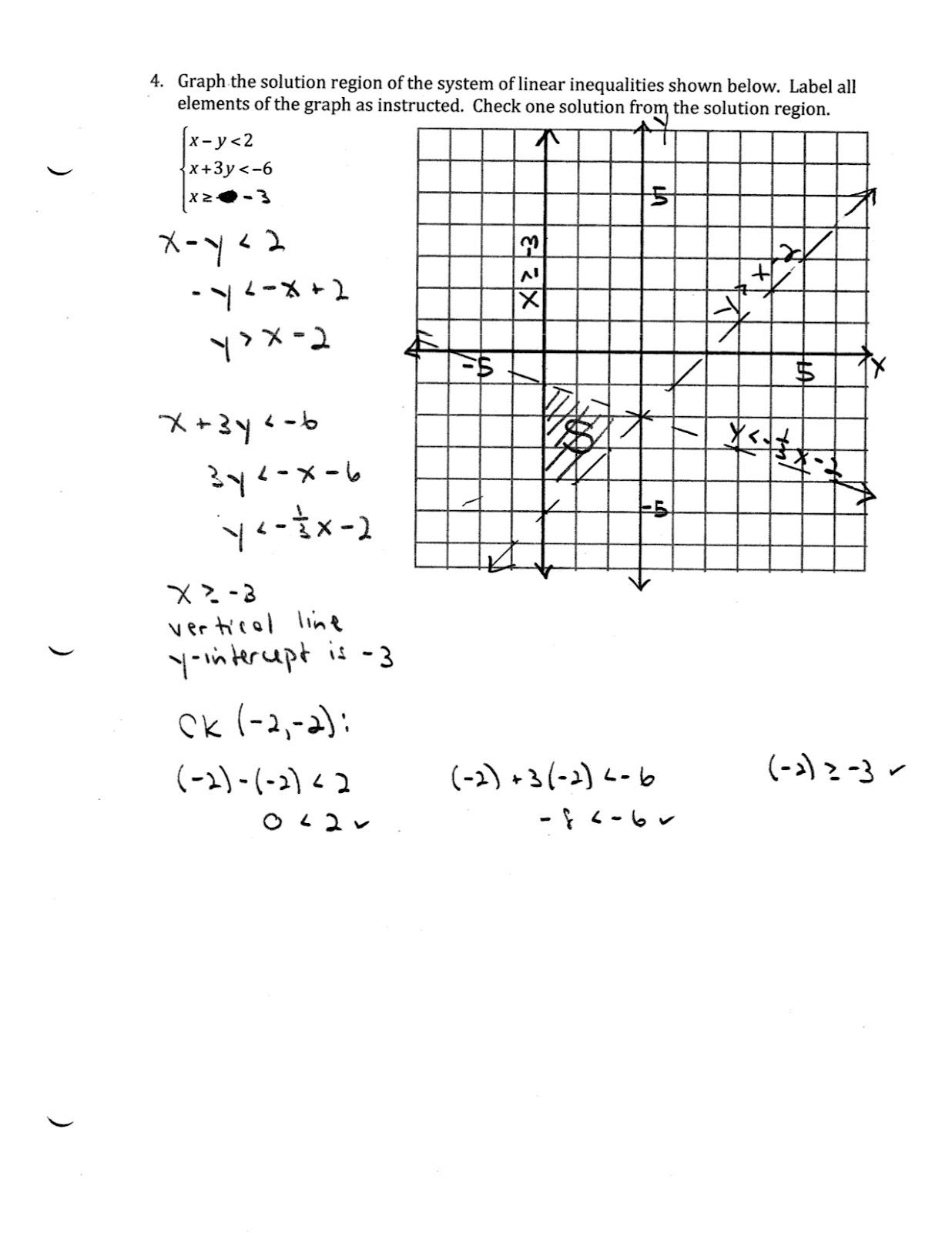 Iroquois Algebra Blog Unit 9 Practice Test Answer Key