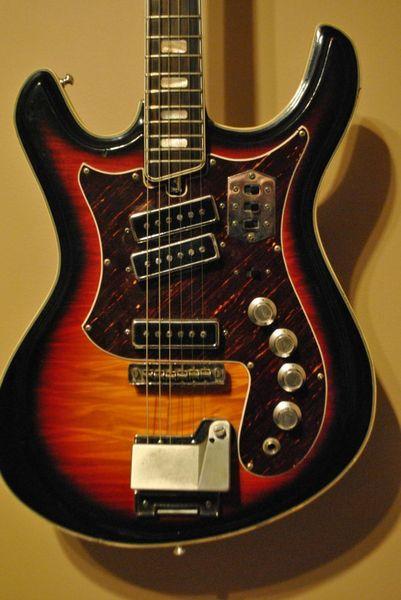 Canadian Vintage Guitar Hunt: 1970 SILVERTONE Mosrite 1445 ...