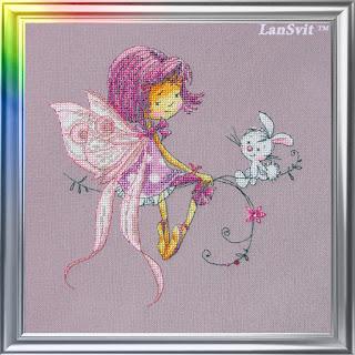 Cross-stitch Lan Svit D-024 «In a Lilac Mood»