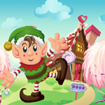 Games4King Cute Elf Rescue