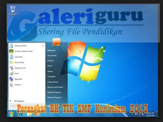 Perangkat BK TIK SMP Kurikulum 2013 - Galeriguru.net