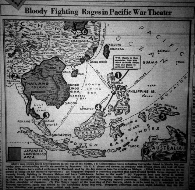 Map of Pacific Theater of Operations, 11 January 1942 worldwartwo.filminspector.com