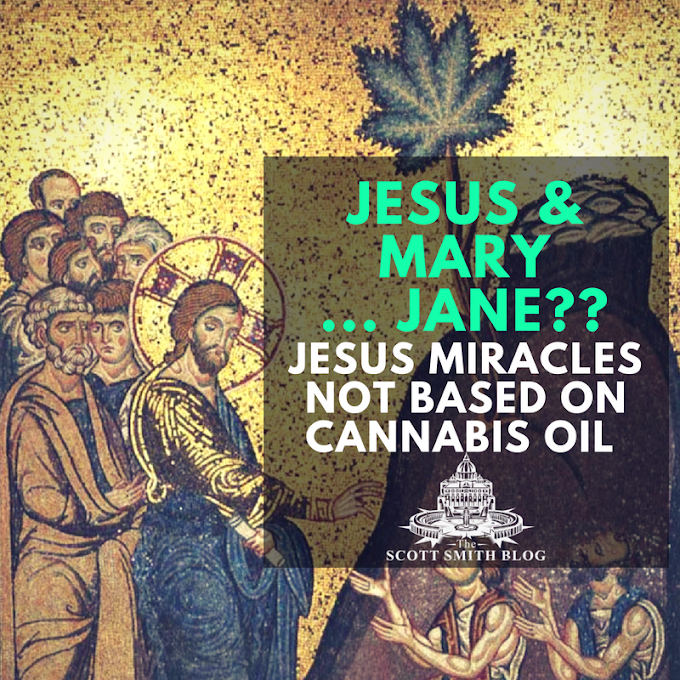 Jesus and Mary ... Jane? Marijuana Activists Claim Jesus Used Cannabis Oil for Miracles WRONG