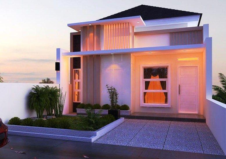 Desain Rumah Minimalis 1 Lantai Type 36 Modern