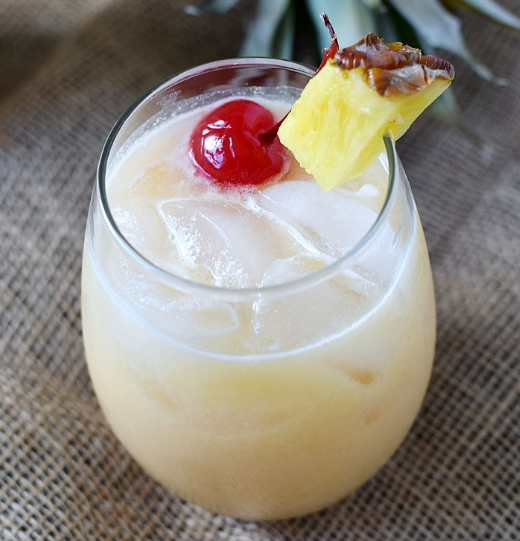 TROPICAL PAINKILLER #healthydrink #tropical