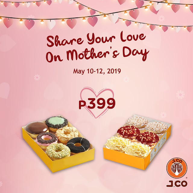 JCo Mother's Day Promo