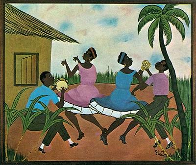Samba em Terreiro - Heitor dos Prazeres ~ O pintor das favelas carioca