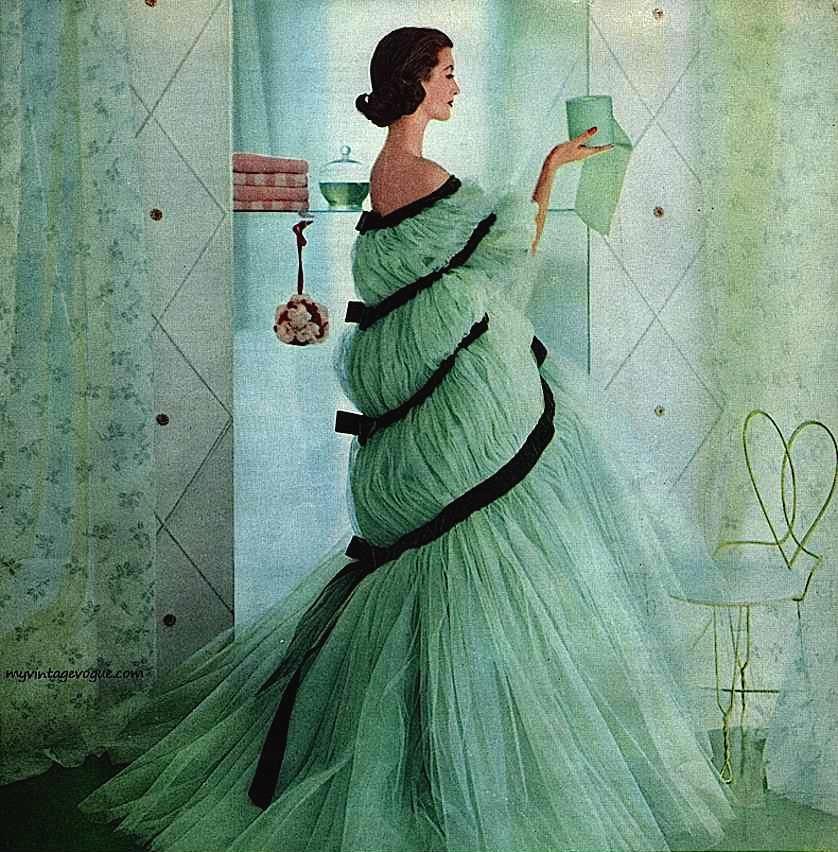 1960s Scott toilet paper ad green