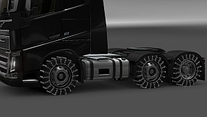 3D Chains for wheels ets2