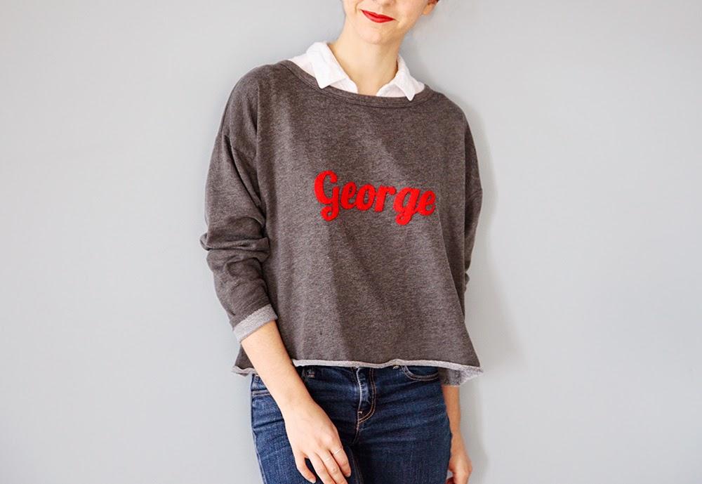 camisetas, apliques, letras, fieltro, bricomoda, costura, técnica