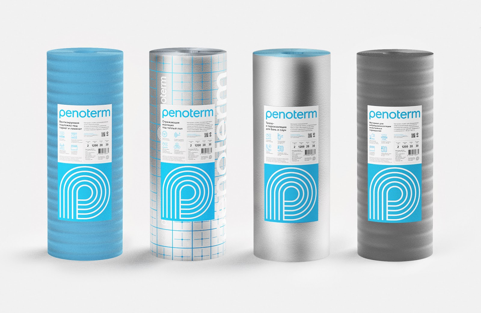 Penoterm Insulation Products Redesigned On Packaging Of