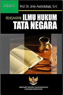 [buku] Pengantar ilmu hukum tata negara jilid 1