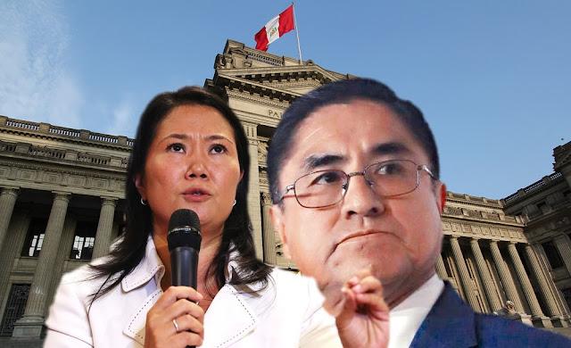Keiko Fujimori protege la corrupción