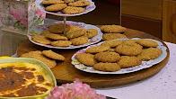 طريقة عمل كوكيز جنين القمح مع غادة التلي في زعفران و فانيلا الشيف