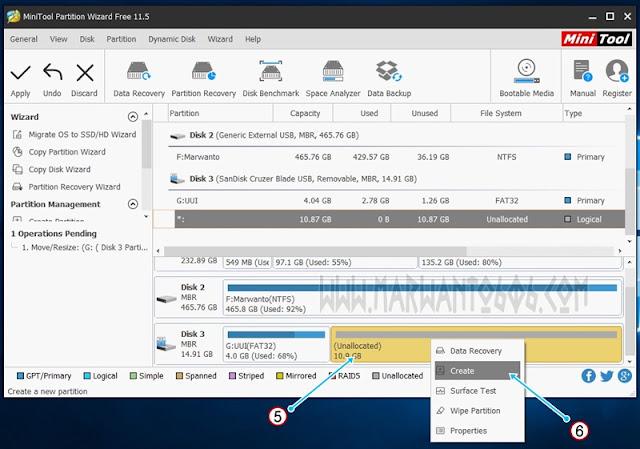 Membuat Bootable USB Persistence Kali Linux