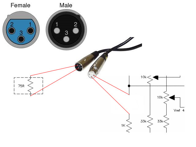 simple cable tester diy electronics rh leoricksimon blogspot com soldering xlr cable diagram xlr wiring diagram to jack
