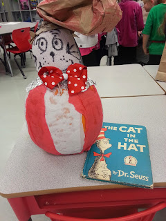 Pumpkin Book Reports- Cat in the Hat