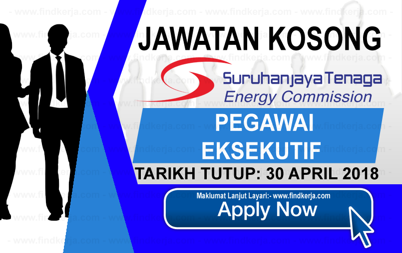 Jawatan Kerja Kosong ST - Suruhanjaya Tenaga logo www.findkerja.com april 2018