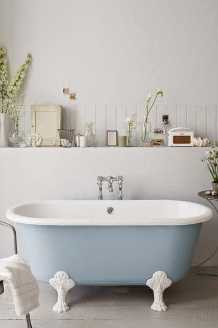 stylish bath