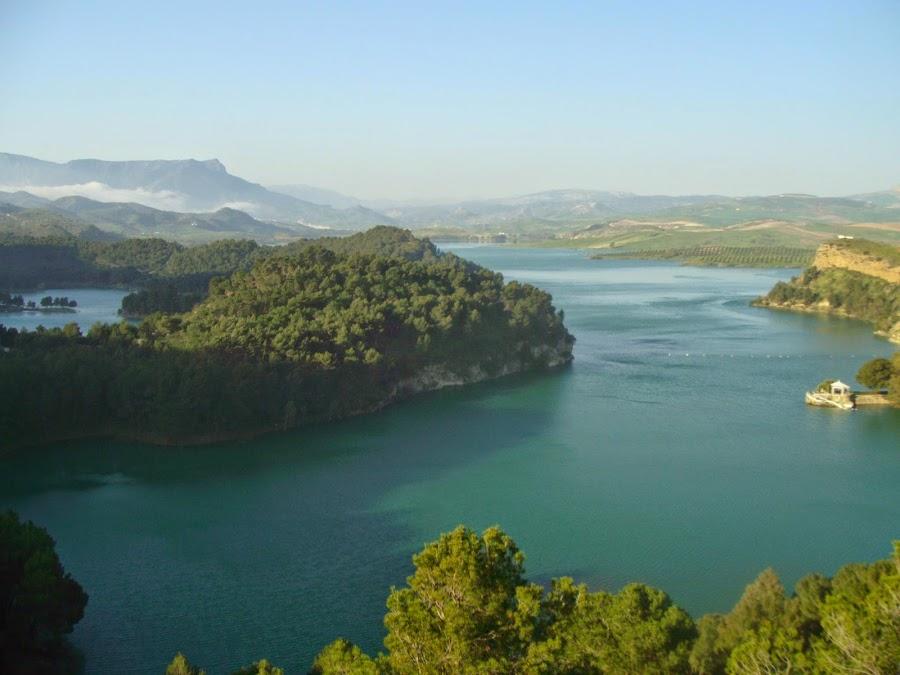 El Parque Natural de Ardales, también conocido como El Chorro