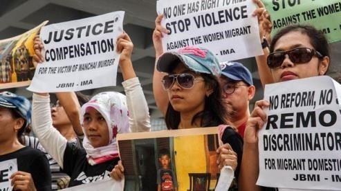 buruh migran asal indonesia rentan terhadap kekerasan dan ketidakadilan