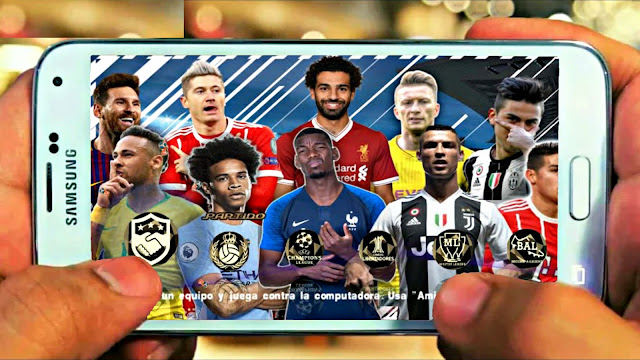 PES 2018 Lite 500 MB With Camera PS4 & Real Faces Android/PPSSPP
