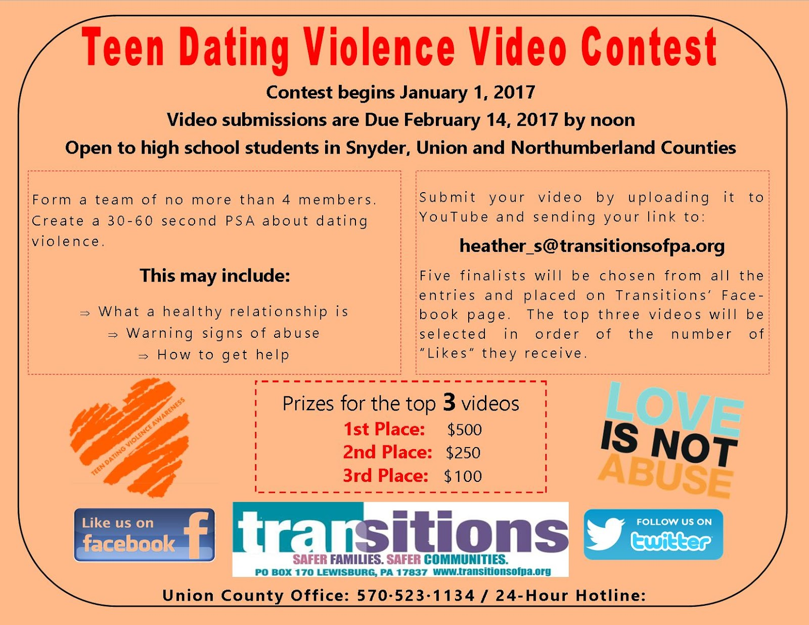 Get 1 now prizes for teens
