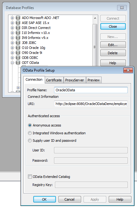 Bruce Armstrong's blog: Accessing any database from PowerBuilder