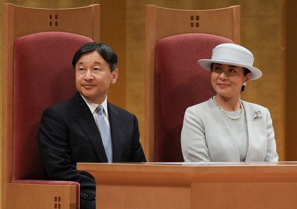 Emperor and Empress attended celebrations of 70th anniversary of enforcement of the National Rehabilitation System