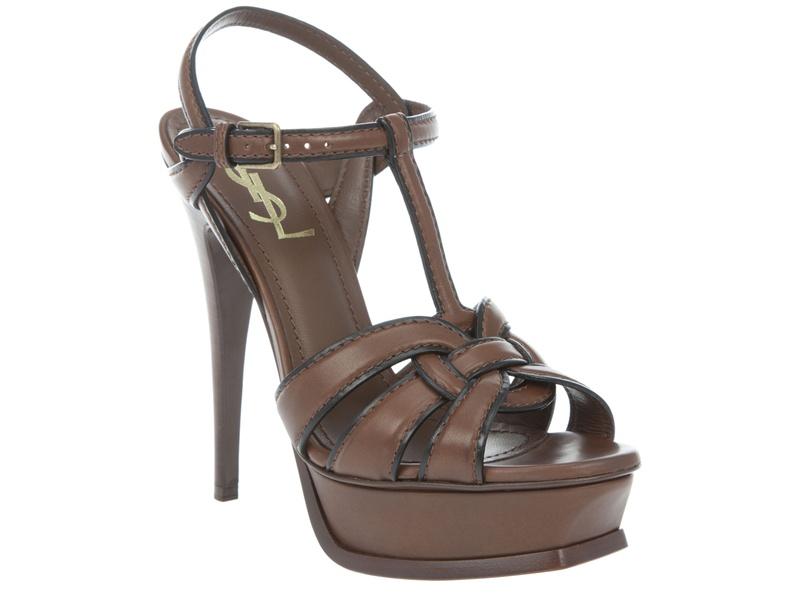cd52c40ebfec Shoe Fetish  Yves Saint Laurent Tribute Platform Sandals ...