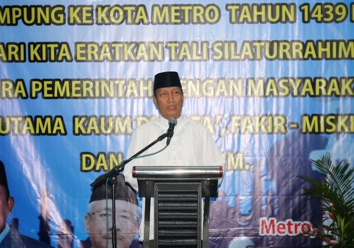 Pjs. Gubernur Didik Safari Ramadhan ke Kota Metro